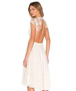SAU | Кружевное Платье С Открытой Спиной Aaliyah