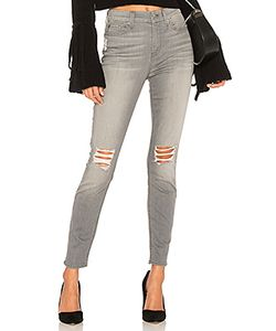 7 for all mankind | Джинсы Скинни С Дырами На Коленях The Hw Ankle 7