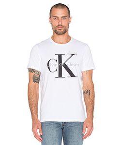 Calvin Klein   Футболка С Круглым Вырезом И Коротким Рукавом