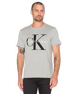 Calvin Klein | Футболка С Круглым Вырезом И Коротким Рукавом