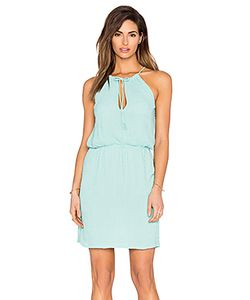 Tessora | Halter Tie Waist Mini Dress