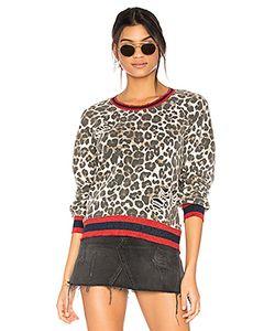 PAM & GELA | Leopard Print Sweatshirt