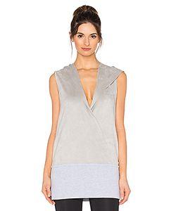 BLANC NOIR | Wrap Hoodie Vest