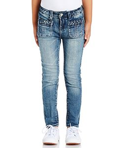 7 For All Mankind Kids | Девичьи Узкие Джинсы The Skinny