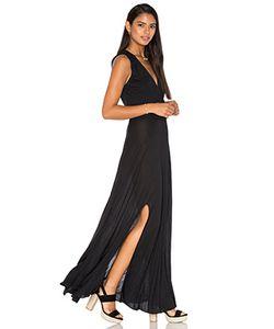 Haute Hippie | Макси Платье Modal Drape Front