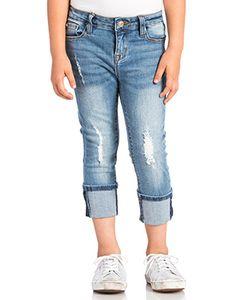 Hudson Jeans Kids | Укороченные Джинсы Ginny