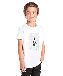 MADE KIDS | Футболка С Рисунком I Am Art