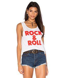 BANDIT BRAND | Красная Длинная Майка Rock Roll