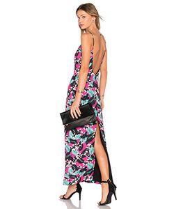NBD | Макси Платье С Глубоким Вырезом Tropical
