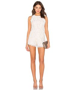 Endless Rose | Woven Lace Romper