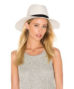 JANESSA LEONE | Шляпа Федора Camellia Wide Brimmed Classic