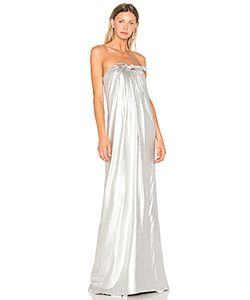 Halston Heritage | Gown With Front Twist