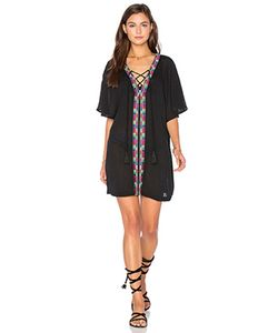 Piper | Xico Beaded Lace Up Dress