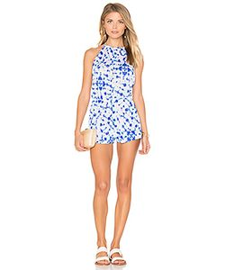 Luli Fama | Beautiful Mess Keyhole Plunge Romper