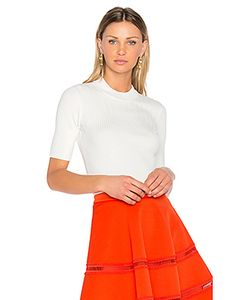 Carven | Ribbed Knit Top