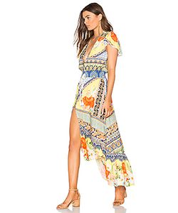 FARM   Maria Flower Cropped Dress