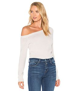 James Perse | Off The Shoulder Cashmere Sweater