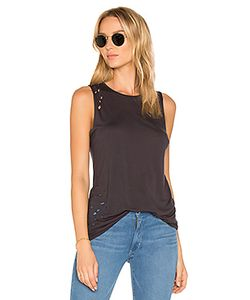 Weslin + Grant | The Brix Distressed Muscle Tank
