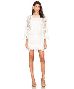 Lumier | Lady Like Bell Sleeve Tunic Dress