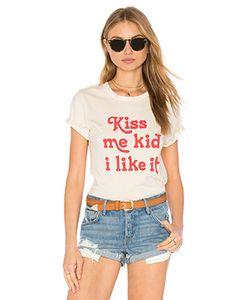 MATE the Label | Майка С Вырезом Под Горло Kiss Me Kid Beau Mate