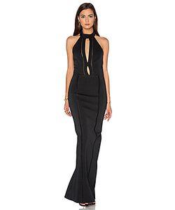 Nicholas | Bandage Plunge Gown Dress