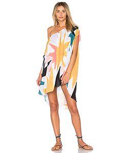 Mara Hoffman   Платье С Открытыми Плечами
