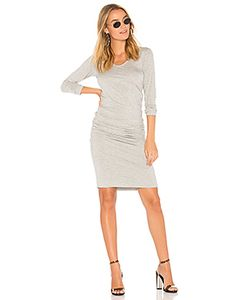 Monrow | Платье С Длинным Рукавом Shirred