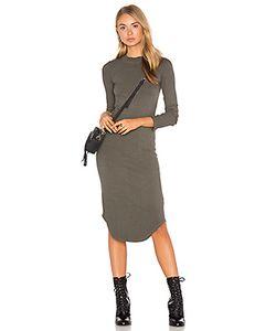 Monrow | Платье С Длинным Рукавом И Овальным Вырезом