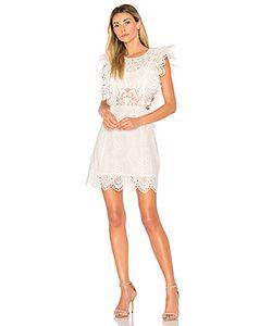 Nightcap | Eyelet Apron Mini Dress