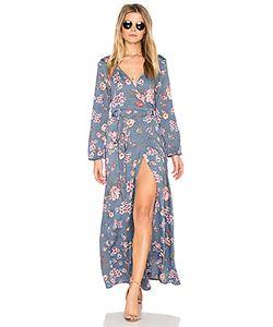 Stillwater | High Slit Wrap Dress