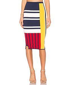 Tommy Hilfiger | Tommy X Gigi Patchwork Skirt