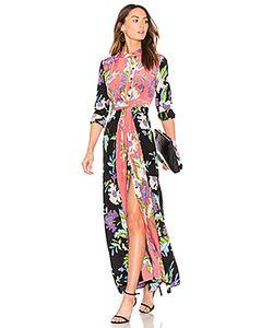 Diane Von Furstenberg | Макси Платье С Цветочным Принтом