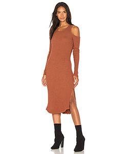 Monrow | Облегающее Платье С Открытыми Плечами