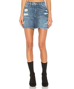 Frame Denim | Le Mini Skirt Fray Edge