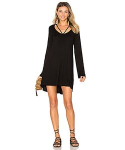 Michael Lauren | Bailor Cut Out Neck Dress