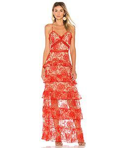 Nicholas | Ярусное Вечернее Платье Rosie