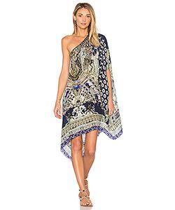 Camilla | Короткое Платье В Восточном Стиле С Круглым Вырезом