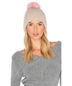 Hat Attack | Лыжная Шапочка В Рубчик С Помпоном
