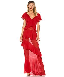Adriana Degreas | Шелковое Платье С Рюшами