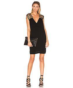 BCBGMAXAZRIA | Цельнокроеное Платье С V-Образным Вырезом
