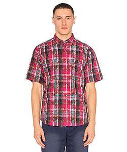 Clot | Рубашка В Клеточку Overlapped Pattern