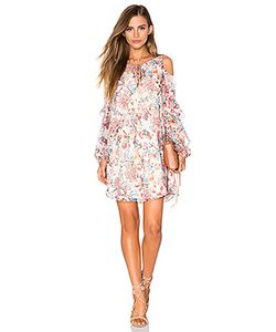 Haute Hippie | Мини Платье The Flower In The Sun