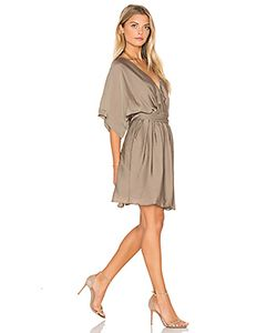 IKKS Paris | Short Sleeve Tied Waist Mini Dress