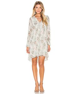 IKKS Paris | Long Sleeve Floral Shift Dress