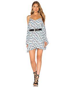Lucca Couture | Мини Платье С Открытыми Плечами