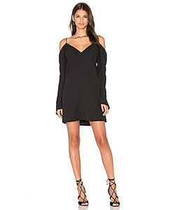 C/MEO | Мини Платье С Открытыми Плечами Cold Shoulder