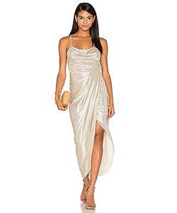Shona Joy | Макси Платье С Широким Вырезом На Шнуровке Esmeralda
