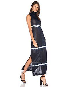 EGREY | Sleeveless Turtleneck Maxi Dress