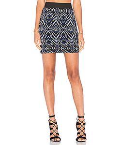 Fifteen Twenty | Knit Jacquard Skirt