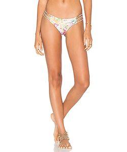San Lorenzo | Braided Strap Bikini Bottom